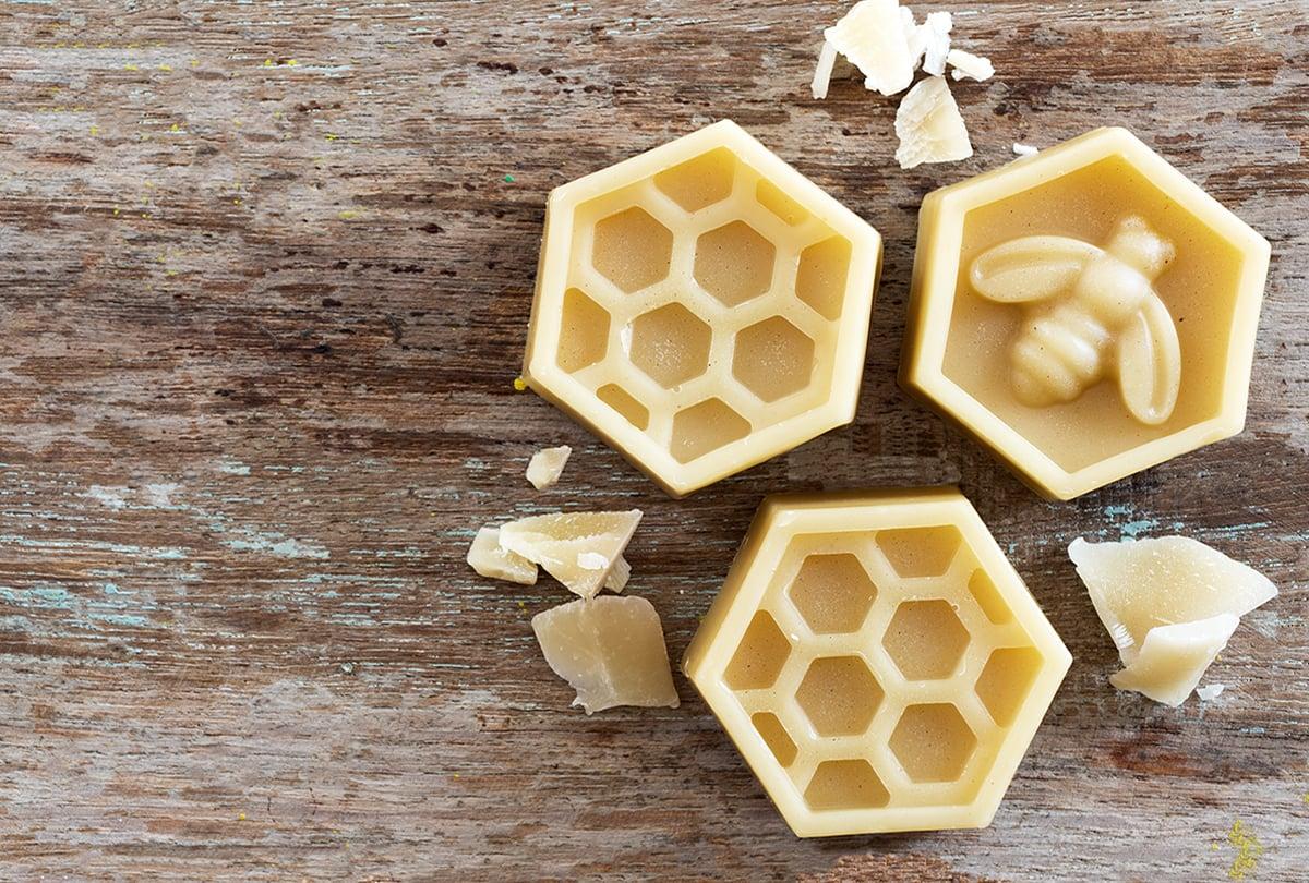 Bienenwachswaben