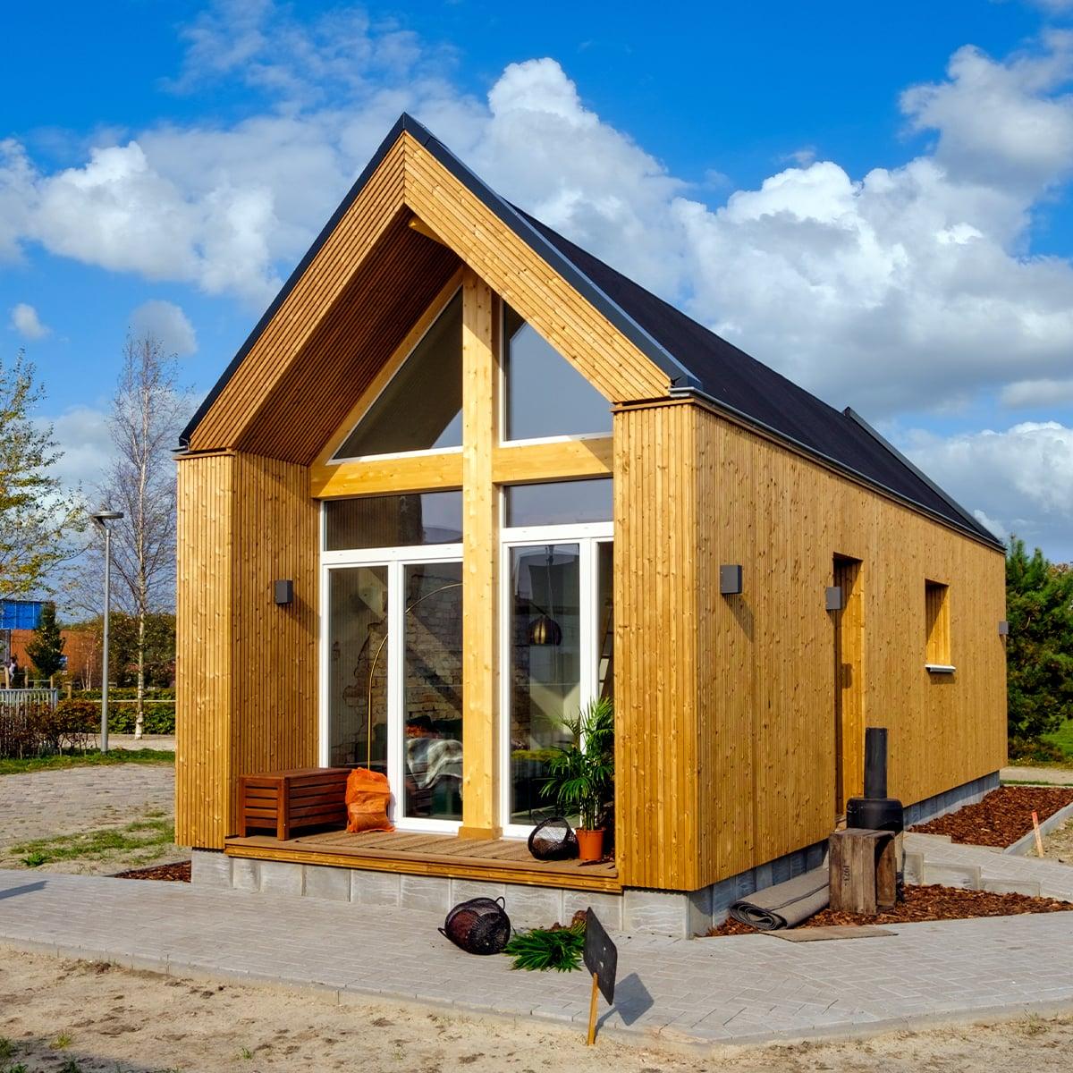 Tiny House aus Holz